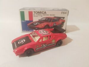 TOMICA F64 - DE TOMASO PANTERA RACING ABSOLUTELY MINT VHTF MADE IN JAPAN