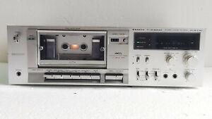 Lecteur/enregistreur de cassette Hifi stéréo SANYO Plus Séries.PLUS D60.