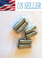 6PCs LM8LUU 8mm Long Linear Motion Bearing Ball Bushing 8x15x45mm CNC Parts