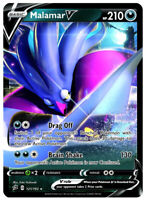 Pokemon 1x NM-Mint Holo Malamar V - 121/192 - Ultra Rare Rebel Clash