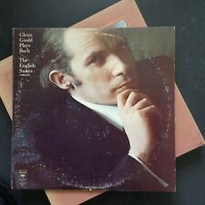 GLENN GOULD Plays Bach The English Suites Complete - 1977 - PROMO 2 vinyles