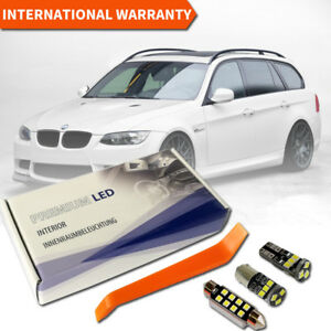BMW E91 Full LED Interior Premium Kit 17 SMD Bulbs White Error Free Canbus