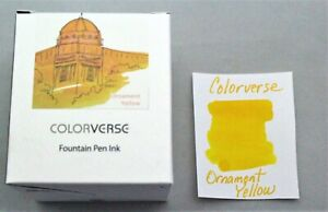 Colorverse Ornament Yellow 65ml Fountain Pen Ink