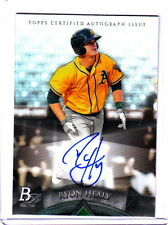 2014 Bowman Platinum Ryon Healy Oakland Athletics Auto