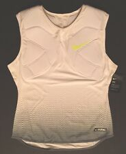 Nike Vapor Speed Max Knit Football Padded Tank White 852316 100 Men's Xlarge New