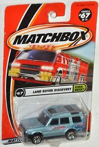 Matchbox 2001 #67 Storm Watch Land Rover Discovery MOC VHTF Mattel 92281