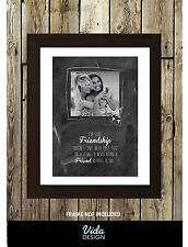 Best friend quote, Friendship quote, Personalised photo print A4, Friend Gifts