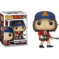 AC/DC - Angus Young Red Jacket US Exclusive Pop! Vinyl Figure NEW Funko ACDC