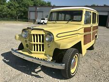 1962 Willys Station Wagon 4 Cylinder / 3 Speed Manual