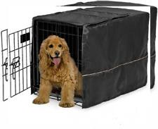 MidWest Homes for Pets Dog Crate Cover 30-Inch, Black