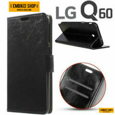 Custodia per LG Q60 Flip Cover Libro Portafoglio Chiusura Magnetica