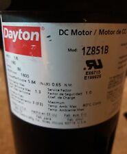 Dayton 1/6 HP DC Motor 1Z851B 1800 RPM 180V
