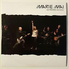 """MARIE MAI : """"QUI PRENDRA MA PLACE"""" (pochette rare) ♦ CD SINGLE PROMO ♦"""