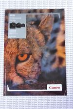 Canon Professional range Camera Brochure - EOS 1Dc, 1Dx, 5D Mark III - New