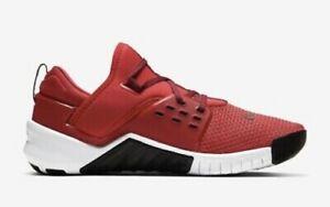 Nike Free X Metcon 2Men's Training Shoe - University Red/Black/White Size 12.5