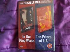 """DVD    """"IN THE DEEP WOODS""""  and """"THE PRINCE OF LA""""   a double bill.  BRAND NEW"""