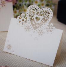 50 Hochzeitsdekoration Tischkarten Namenskarten Tisch Deko Hochzeit Wedding