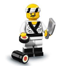 LEGO NEW NINJAGO MOVIE MINIFIGURE SERIES 71019 SUSHI CHEF FIGURE WITH KNIFE