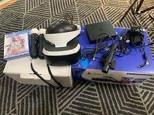 PSVR Bundle - PlayStation VR complete Bundle! Great Condition + Games!