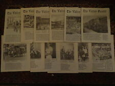 The Valley Gazette 1992 12 Issues Carbon County Pennsylvania History Newspaper