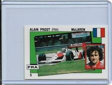 1988 PANINI SUPERSPORT ITALIAN ALAIN PROST STICKER CARD #5 ~ FORMULA ONE  FRANCE