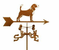 Dog - Beagle Weathervane - Hound - Weather Vane - Complete w/ Choice of Mount