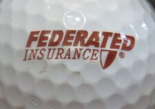 (1) Federated Insurance Services Logo Golf Ball