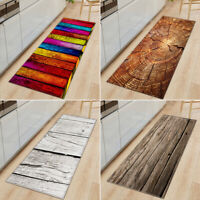 Non-Slip Kitchen Floor Mat Machine Washable Rug Door Large Runner Striped Rugs