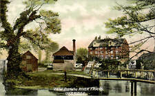 Uxbridge. View from the River Frays by Pewsey, Stationer etc. Uxbridge.