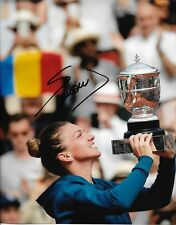 SIMONA HALEP SIGNED 8X10 PHOTO TENNIS US OPEN WIMBLEDON FRENCH AUSTRALIAN HOT A