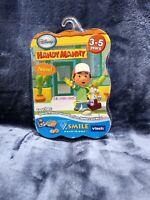 Vtech V. Smile Disney Handy Manny Smartridge Game Ages 3-5 Years NEW