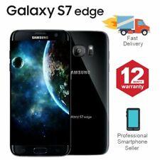 SAMSUNG GALAXY S7 Edge 32GB sbloccato 4G SIM telefono Mobile Android nero