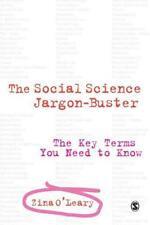 the Social Science Jargon Buster: The Key Terms Sie brauchen to Know von Zina O'