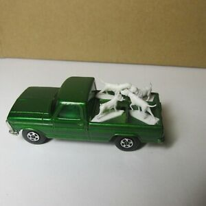 OLD DIECAST LESNEY MATCHBOX SUPERFAST NO. 50 FORD KENNEL TRUCK MADE IN ENGLAND