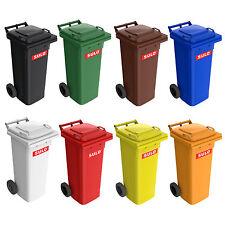 SULO 80 Liter braun Abfalltonne Biomülleimer Restmülltonne Müllcontainer