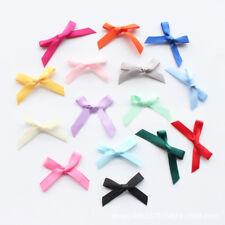50Pcs Cute Small Ribbon Bows Romantic Tied Craft Wedding and Party Decor
