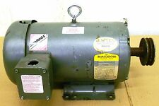 BALDOR M3614T, MOTOR, 2 HP, 230/460 VOLTS, 3 PHASE, 60 HZ, 6.2/3.1 AMPS