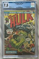 INCREDIBLE HULK #180 CGC 7.5 (OW/W) VF- | 1st Appearance WOLVERINE | Marvel 1974