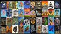 Emek Collectors Stickers Set Of 40 Art Pearl Jam Dreamer Robot 3 X 4 Inches