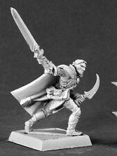 Vale Ranger Sergeant Reaper Miniatures Warlord Elves Dark Elf Fighter Melee RPG