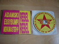 ADAMSKI Rebel Rebel 1990 CD single