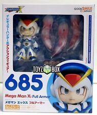 "In STOCK Good Smile ""Megaman X.Full Armor "" Mega Man 685 Nendoroid Action Figure"