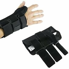 Arm Hand & Finger Supports Wrist Brace Pair, Two (2), Small/Medium, Carpal Right