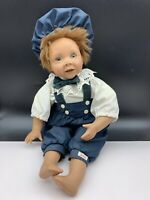 Künstlerpuppe BaMey Vinyl Puppe 45 cm. Top Zustand