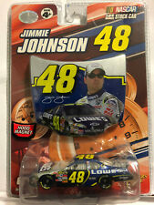 2007 Jimmie Johnson Lowes hood & car 1:64 WC Winners Circle v2