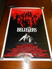 THE BELIEVERS(1987)MARTIN SHEEN ORIGINAL ONE SHEET POSTER ROLLED