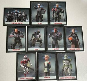 """Star Wars TOPPS """"Bad Batch"""" Limited Edition Trading cards - 2500 made!"""
