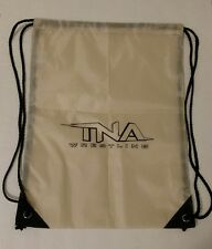 "TNA Impact Wrestling Brown Drawstring Bag BRAND NEW WWE backpack 18"" x 13"""