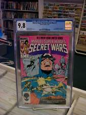 MARVEL SUPER HEROES SECRET WARS #7 CGC 9.8 ~ White Pages