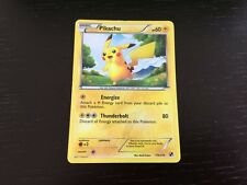 Pokemon Card - Pikachu Secret Rare - Black & White 115/114 - Rare Holo